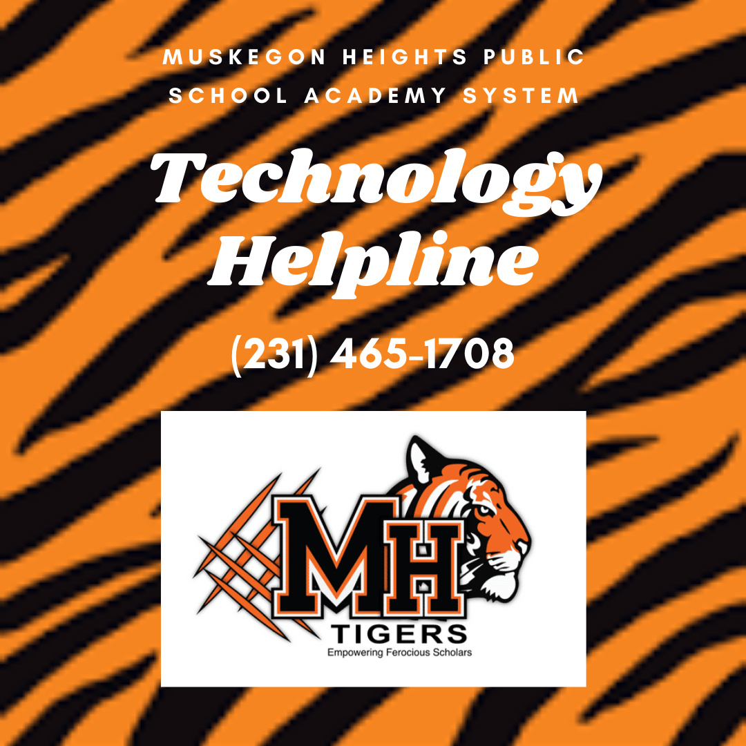 Call 231-465-1708 for technology help.